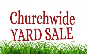 Annual Church Wide Indoor Garage Sale
