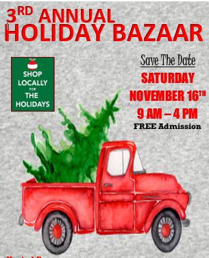 3rd Annual Holiday Bazaar