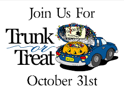 Trunk or Treat (open to all-4pm)