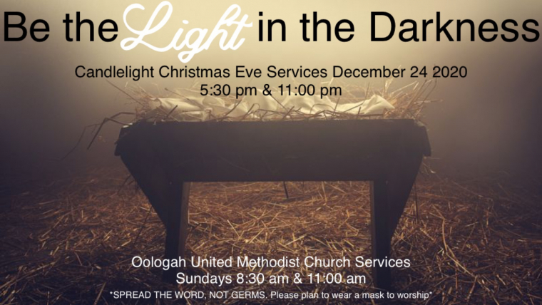 Candlelight Christmas Eve Service-5:30 & 11pm