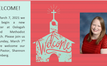 Welcome New Pastor Shannon